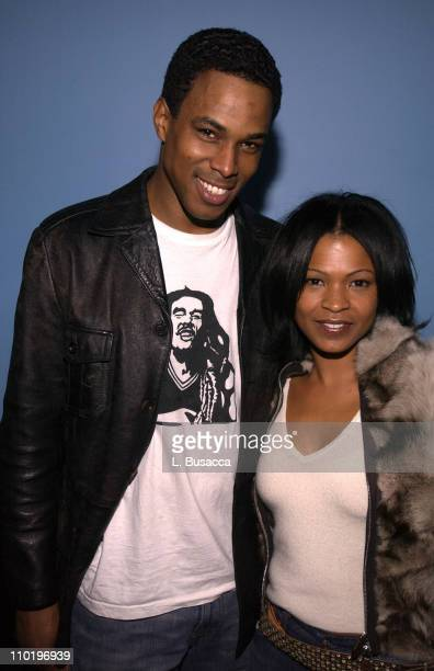 Ricky Fante and Nia Long during Ricky Fante Performance at SOB's in New York NY United States