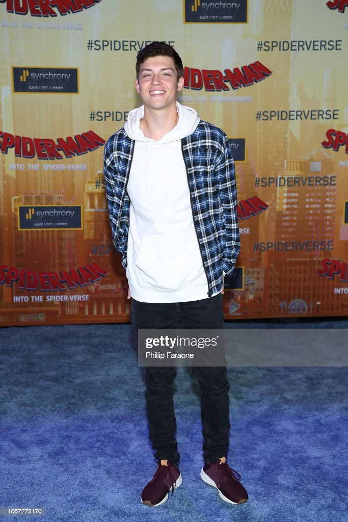 Ricky Garcia attends the world premiere of Sony Pictures
