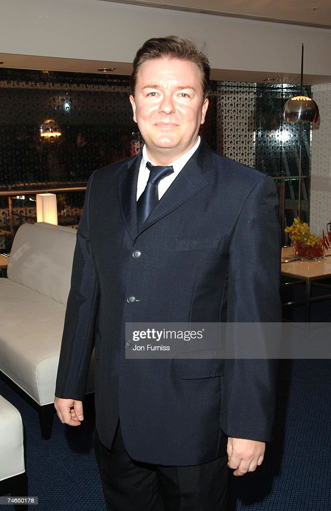 ec197a83e8 Ricky Gervais at the Royal Opera House in London, United Kingdom ...