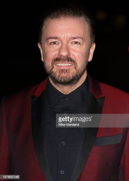 Ricky Gervais attends the Sun Military Awards at Imperial War Museum on December 6, 2012 in London, England.