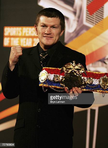 Ricky Hatton arrives at the BBC Sports Personality of the Year Awards on December 10 2006 at the Birmingham NEC in Birmingham England