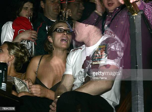 Ricky Hatton at the Ricky Hatton PostFight party at Hard Rock's Body English Nightclub on December 8 2007 in Las Vegas Nevada