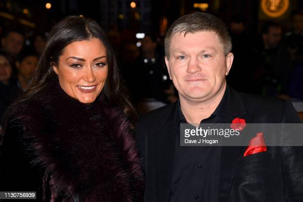 Ricky Hatton attends the opening night of Only Fools and Horses The Musical at Theatre Royal Haymarket on February 19 2019 in London England