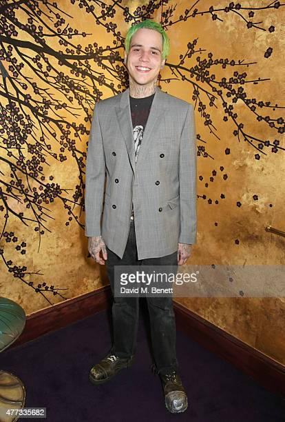 Ricky Hil attends the Walkabout Foundation Event hosted by Dee Ocleppo And Tommy Hilfiger at Loulou's on June 16, 2015 in London, England.