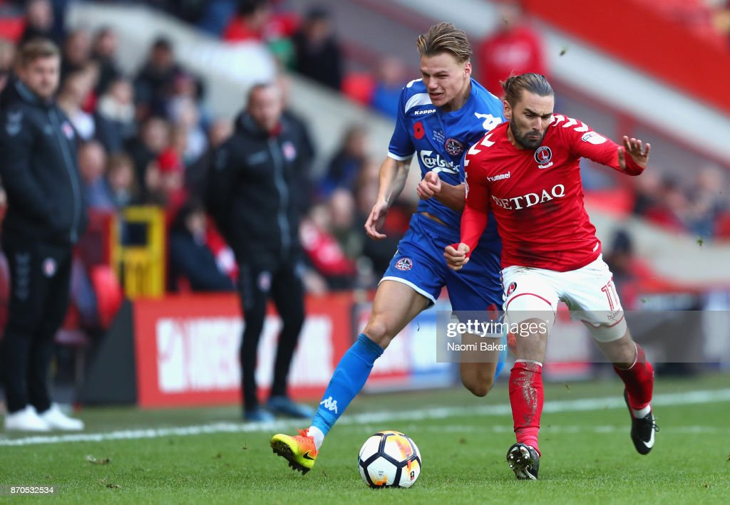 Charlton Athletic v Truro City - The Emirates FA Cup First Round : News Photo
