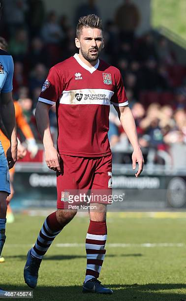 Ricky Holmes of Northampton Town in action during the Sky Bet League Two match between Northampton Town and Cambridge United at Sixfields Stadium on...