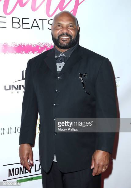 Ricky Hunley attends the 2018 Beauty The Beats Celebrity Party and Panel Discussion at Dream Magic Studios on February 15 2018 in Canoga Park...