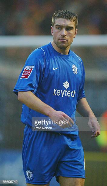 Ricky Lambert of Rochdale in action during the Coca Cola League two match between Rochdale and Northampton Town at Spotland on January 2, 2006 in...