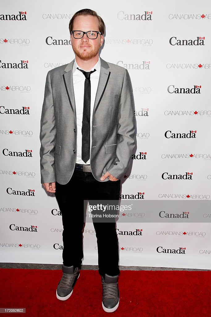 Ricky Mabe attends the 2013 Canada Day in LA party at Wokano restaurant on June 30, 2013 in Santa Monica, California.