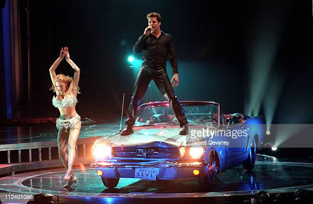 Ricky Martin and dancer during Ricky Martin in Concert at Madison Square Garden, New York City at Madison Square Garden in New York City, New York,...