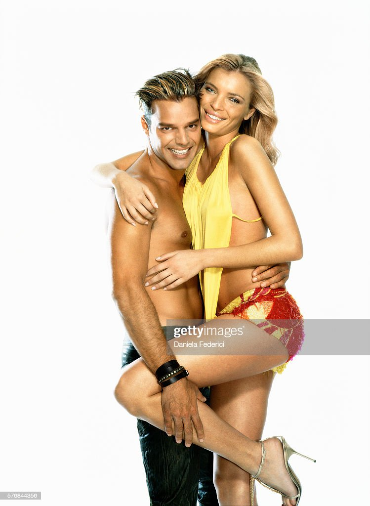 Ricky Martin and Esther Canadas