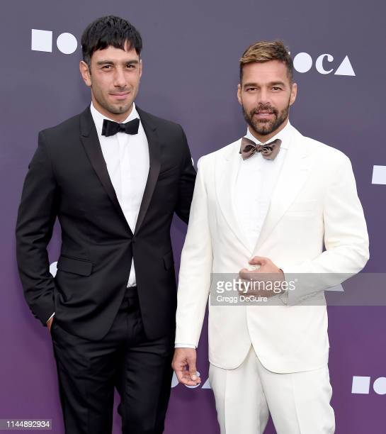 Ricky Martin and Jwan Yosef attend the MOCA Benefit 2019 at The Geffen Contemporary at MOCA on May 18 2019 in Los Angeles California