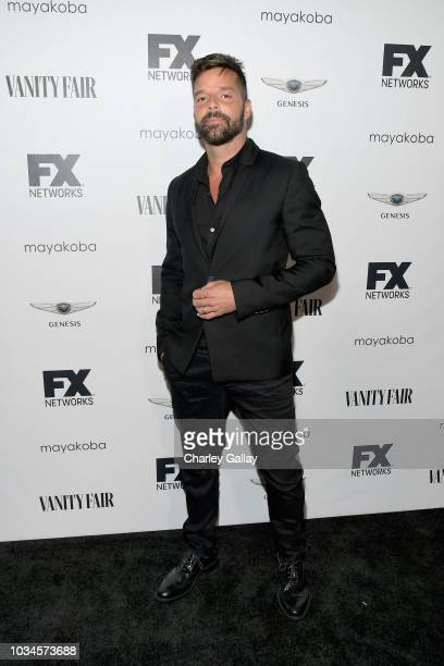 Ricky Martin attends FX Networks celebration of their Emmy nominees in partnership with Vanity Fair at Craft on September 16 2018 in Century City...
