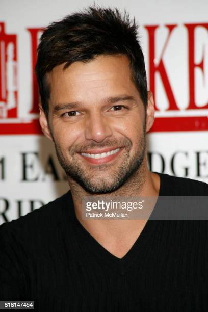 """Ricky Martin attends Ricky Martin book signing of his book, """"Me"""" at BookEnds on November 4, 2010 in Ridgewood, New Jersey."""