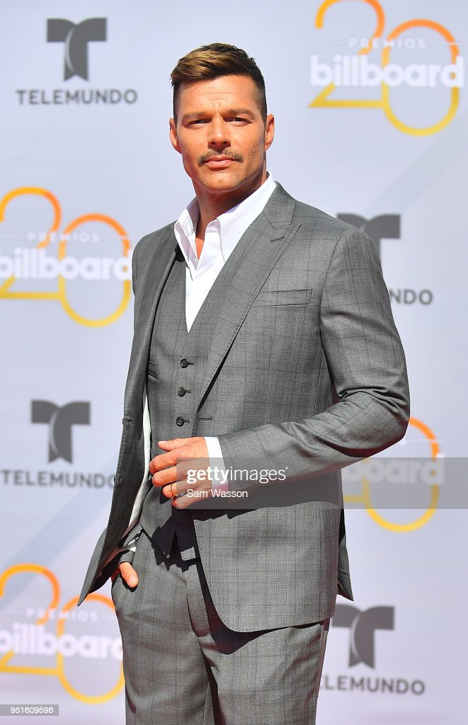 Ricky Martin attends the 2018 Billboard Latin Music Awards at the Mandalay Bay Events Center on April 26, 2018 in Las Vegas, Nevada.