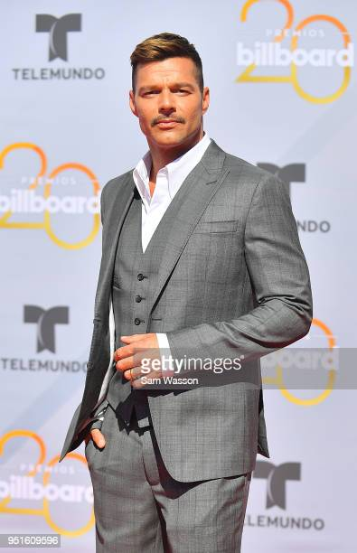 Ricky Martin attends the 2018 Billboard Latin Music Awards at the Mandalay Bay Events Center on April 26 2018 in Las Vegas Nevada