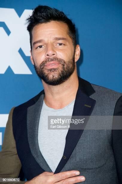 Ricky Martin attends the 2018 Winter TCA Tour at The Langham Huntington Pasadena on January 5 2018 in Pasadena California