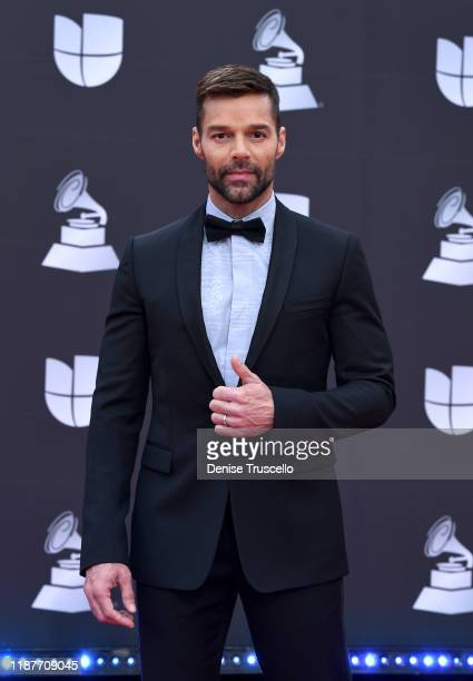 Ricky Martin attends the 20th annual Latin GRAMMY Awards at MGM Grand Garden Arena on November 14, 2019 in Las Vegas, Nevada.