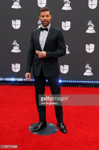 Ricky Martin attends the 20th annual Latin GRAMMY Awards at MGM Grand Garden Arena on November 14 2019 in Las Vegas Nevada