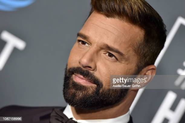 Ricky Martin attends the 24th annual Critics' Choice Awards at Barker Hangar on January 13, 2019 in Santa Monica, California.