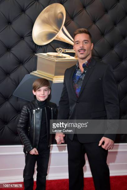 Ricky Martin attends the 61st Annual GRAMMY Awards at Staples Center on February 10 2019 in Los Angeles California