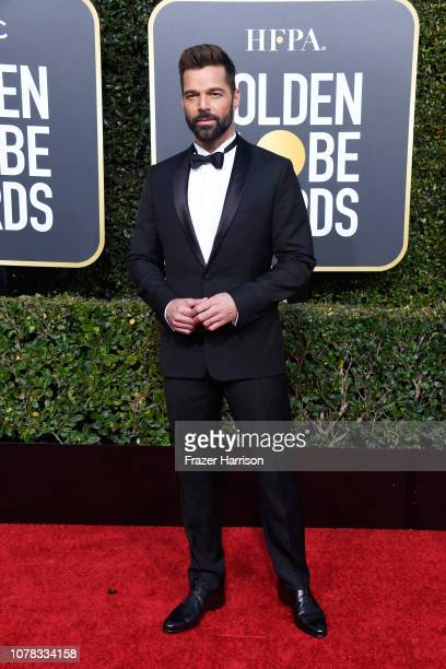 Ricky Martin attends the 76th Annual Golden Globe Awards at The Beverly Hilton Hotel on January 6 2019 in Beverly Hills California