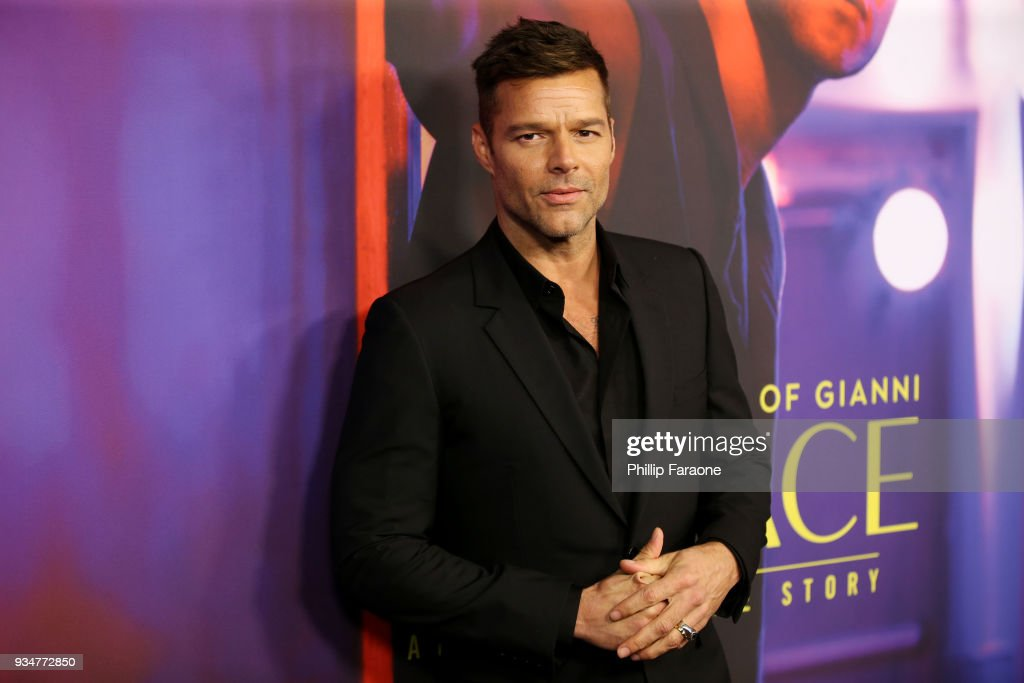 Ricky Martin attends the For Your Consideration Event for FX's 'The Assassination of Gianni Versace: American Crime Story' at DGA Theater on March 19, 2018 in Los Angeles, California.