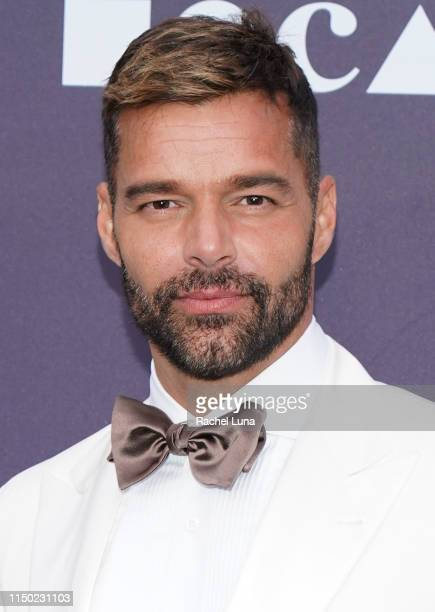 Ricky Martin attends the MOCA Benefit 2019 at The Geffen Contemporary at MOCA on May 18 2019 in Los Angeles California