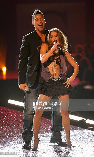 Ricky Martin Dancers during The 10th Annual Victoria's Secret Fashion Show at Lexington Armory in New York New York United States