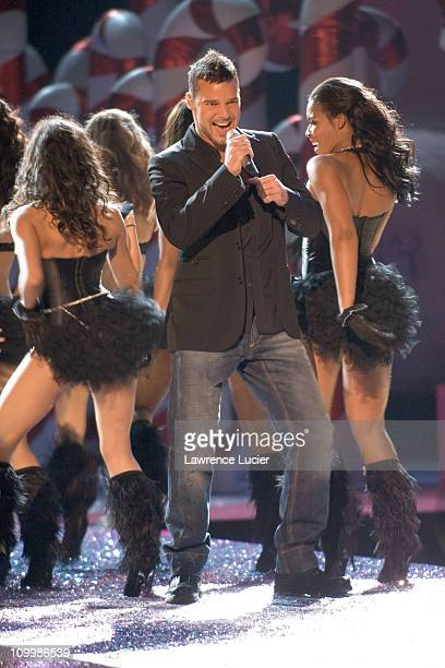 Ricky Martin during 10th Victoria's Secret Fashion Show Runway at Lexington Avenue Armory in New York City New York United States