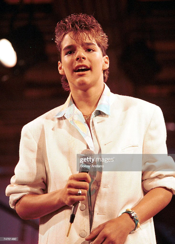 Ricky Martin File Photos : News Photo