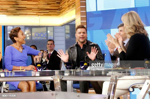 AMERICA Ricky Martin is a guest on 'Good Morning America' Wednesday January 17 2018 on the ABC Television Network ROBIN