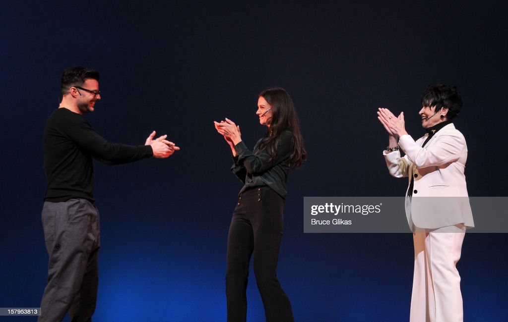 Ricky Martin, Katie Holmes and Chita Rivera host the 2012 Gypsy Of The Year Competition benefitting Broadway Cares Equity Fights AIDS at The New Amsterdam Theatre on December 7, 2012 in New York City.