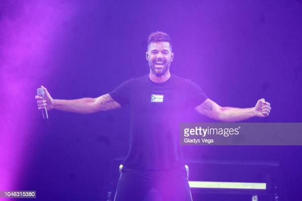 Ricky Martin performs as part of KQ Live at Coliseo Jose M. Agrelot on October 5, 2018 in San Juan, Puerto Rico.