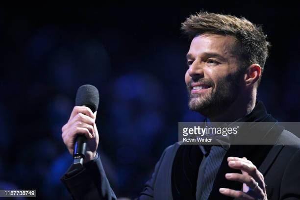 Ricky Martin performs onstage during the 20th annual Latin GRAMMY Awards at MGM Grand Garden Arena on November 14, 2019 in Las Vegas, Nevada.