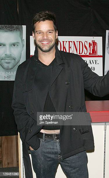"""Ricky Martin promotes """"Me"""" at Bookends on November 4, 2010 in Ridgewood, New Jersey."""