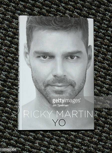 """Ricky Martin's book """"Me"""" at Bookends on November 4, 2010 in Ridgewood, New Jersey."""