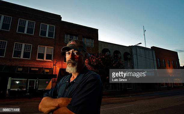 GOLDSBORO NC – JUNE 20 2009 Ricky Mozingo is the youngest of the Mozingo brothers who live around Goldsboro NC He also has the lightest complexion...