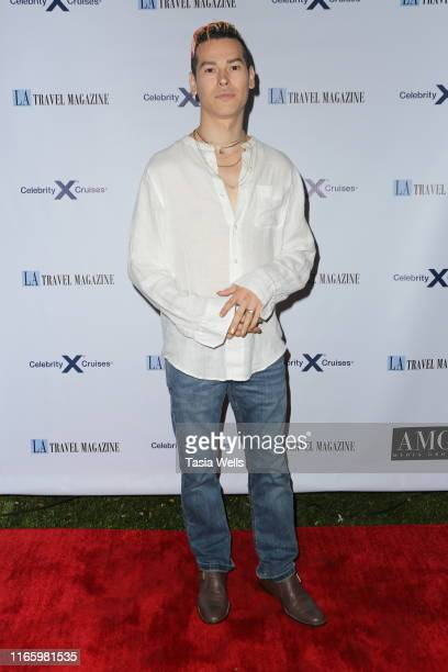 Ricky Palomino attends Los Angeles Travel Magazine's Endless Summer Issue Release Party at Penthouse on August 02, 2019 in West Hollywood, California.
