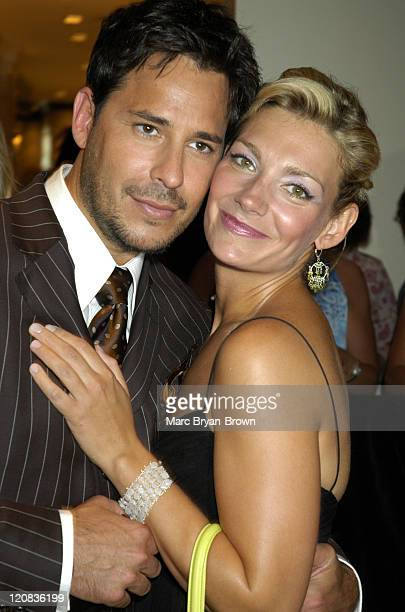 Ricky Paull Goldin and Beth Ehlers during 31st Annual Daytime Emmy Awards PreTelecast Reception at The Sheraton in New York City New York United...