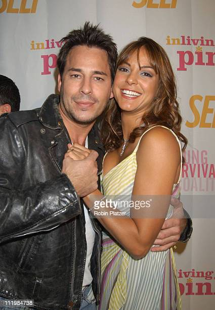 Ricky Paull Goldin and Eva La Rue during Self Magazines Young Survival Coalition Benefit at Angel Orensanz Foundation in New York City, New York,...