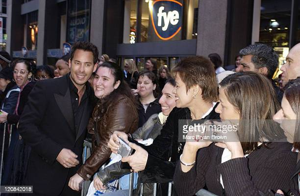 Ricky Paull Goldin and fans during 30th Annual Daytime Emmy Awards Arrivals at Radio City Music Hall in New York City New York United States