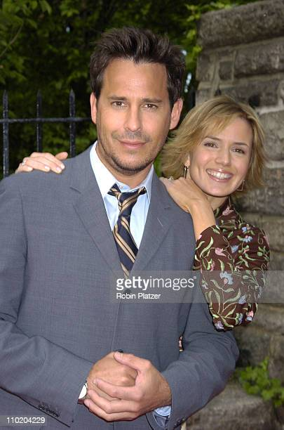 Ricky Paull Goldin and Nancy St Alban during The 31st Annual Daytime Emmy Awards PreParty Thrown by Mayor Bloomberg at Gracie Mansion in New York New...