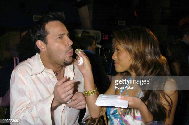 Ricky Paull Goldin and Shannon Zorrilla during Party for The Hot Men of CBS Guiding Light and As The World Turns which was filmed for David Tuteras...