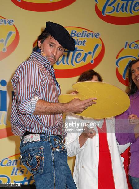Ricky Paull Goldin during Soap Stars Competing to be The New Spokesman for I Can't Believe Its Not Butter June 7 2006 at Madison Square Park in New...