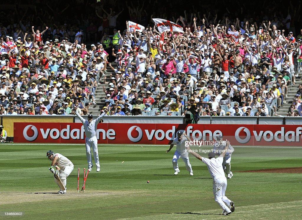 Australia v England , 4th Test, Melbourne, December 2010-11 : News Photo