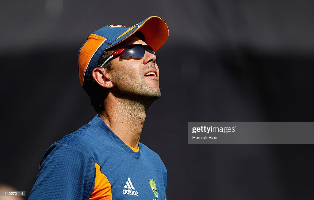 2011 ICC World Cup - Australia Training Session : News Photo
