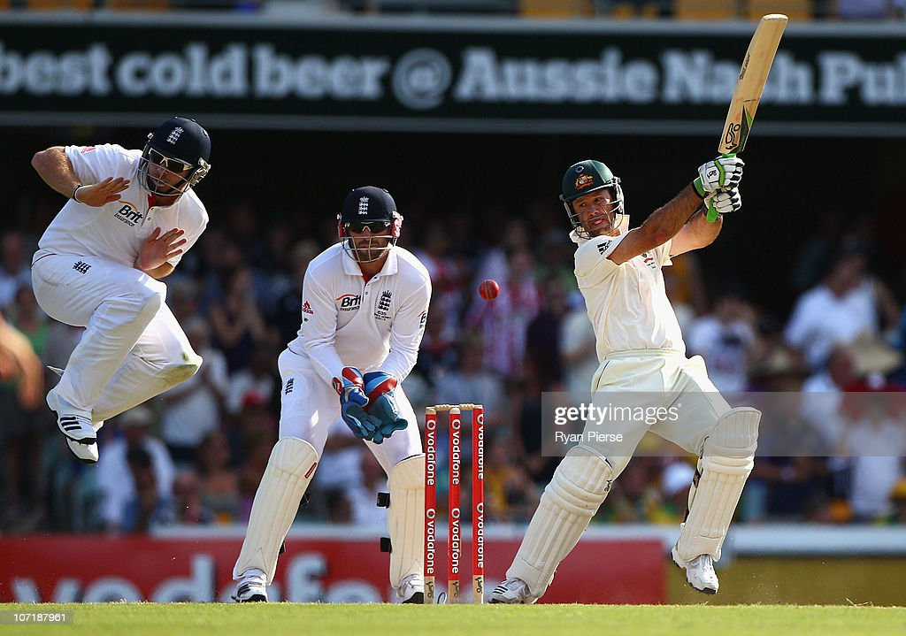 First Test - Australia v England: Day Five