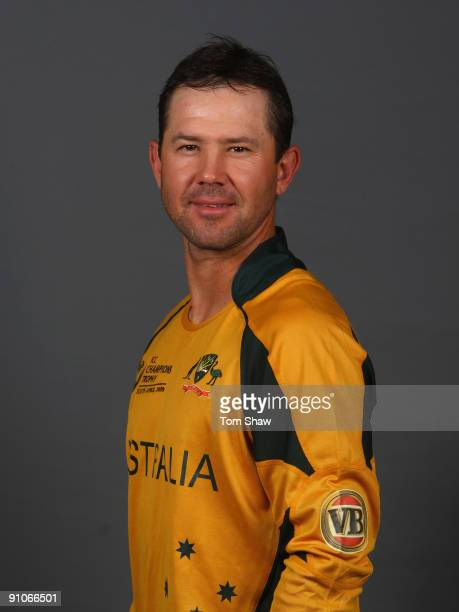 Ricky Ponting of Australia poses during the Australian team portrait session on September 23, 2009 in Johannesburg, South Africa.