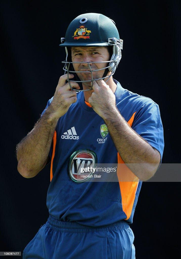 2011 ICC World Cup - Australian Net Session : News Photo